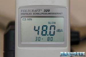 Schiumatoio Vertex Omega 180i - misurazioni di rumore
