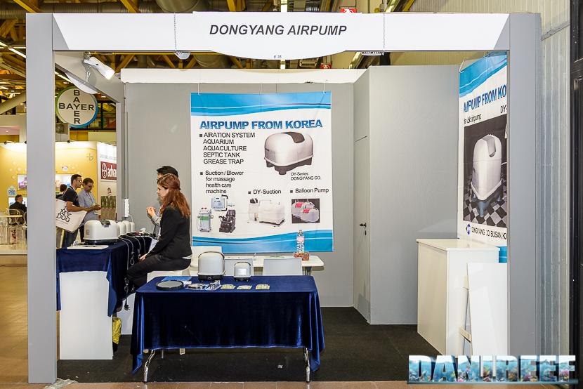 zoomark international 2015: stand dongyang airpump