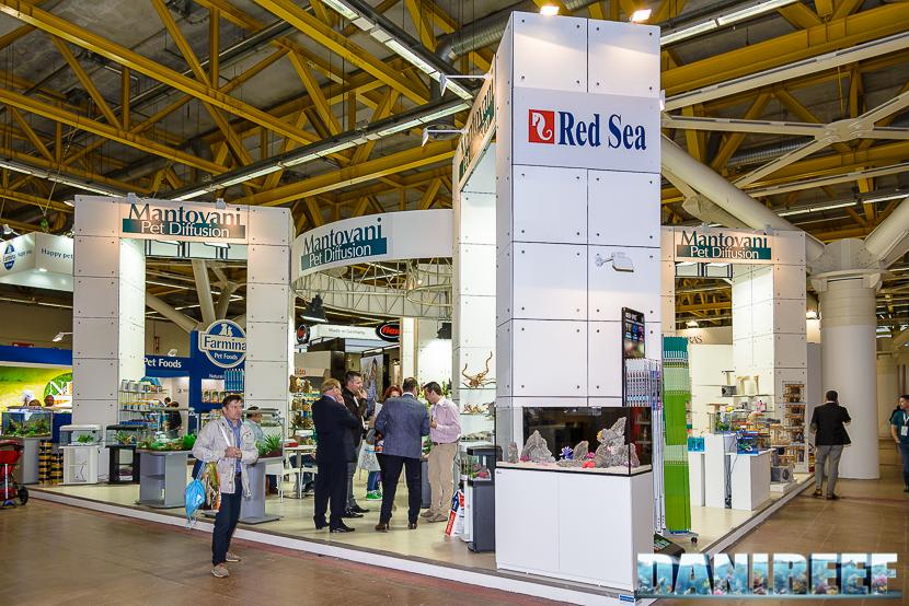 zoomark international 2015: stand mantovani per diffusion - red sea