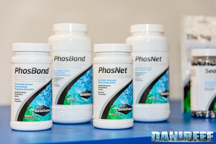 Interzoo 2015: Lo stand Seachem - resine phosnet e phosbond