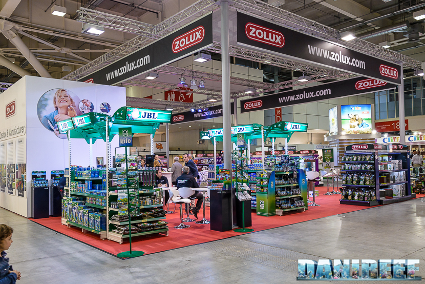 Zoomark 2015: lo stand Zolux - Jbl