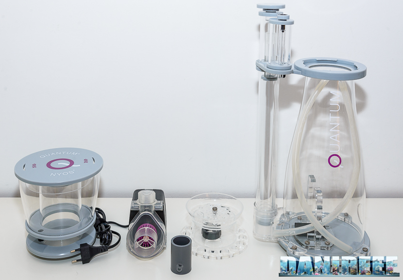 schiumatoio nyos quantum 160 - contenuto della confezione