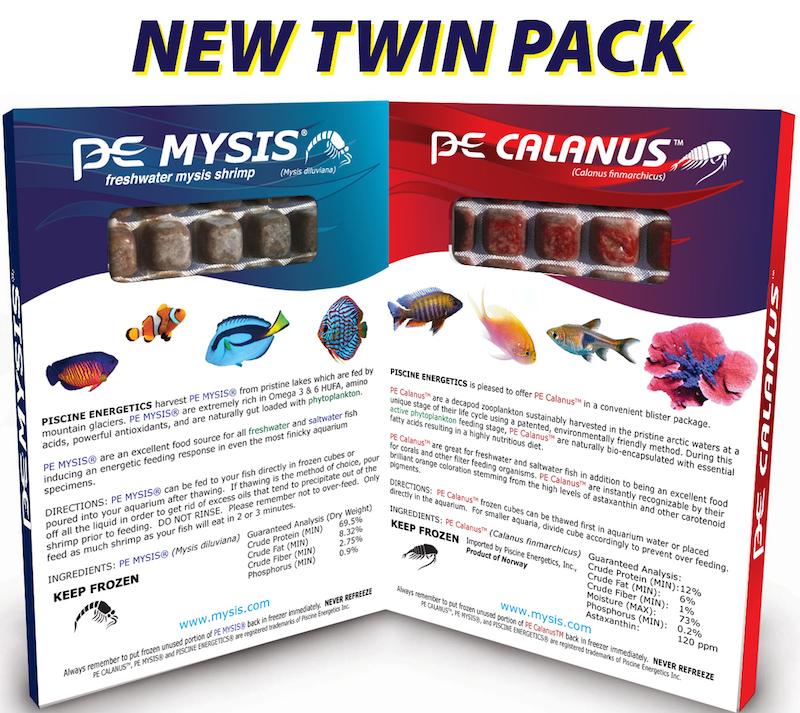 Piscine Energetics PE Mysis PE Calanus newTwin