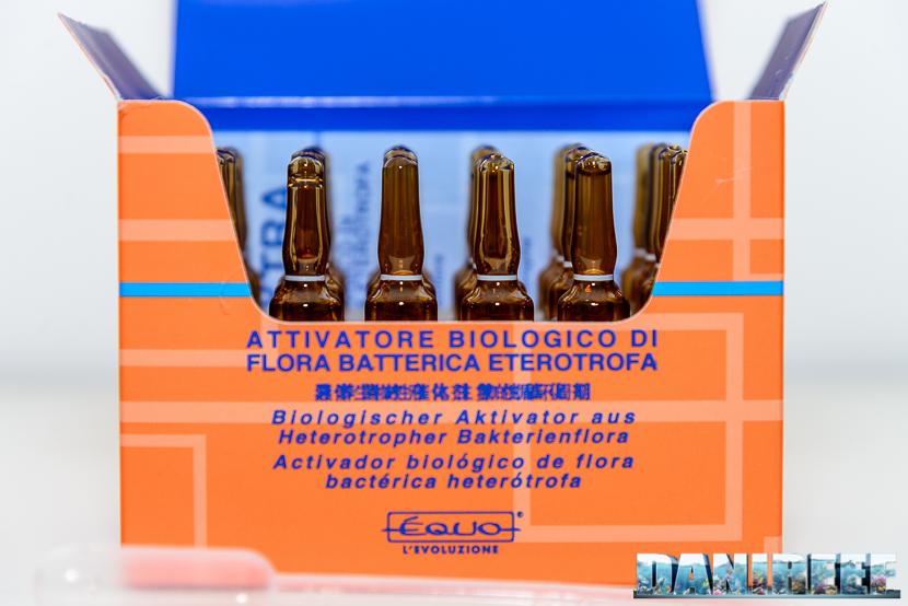 scatola di equo bio extra - enzimi e batteri per acquari di acqua dolce ed acqua marina