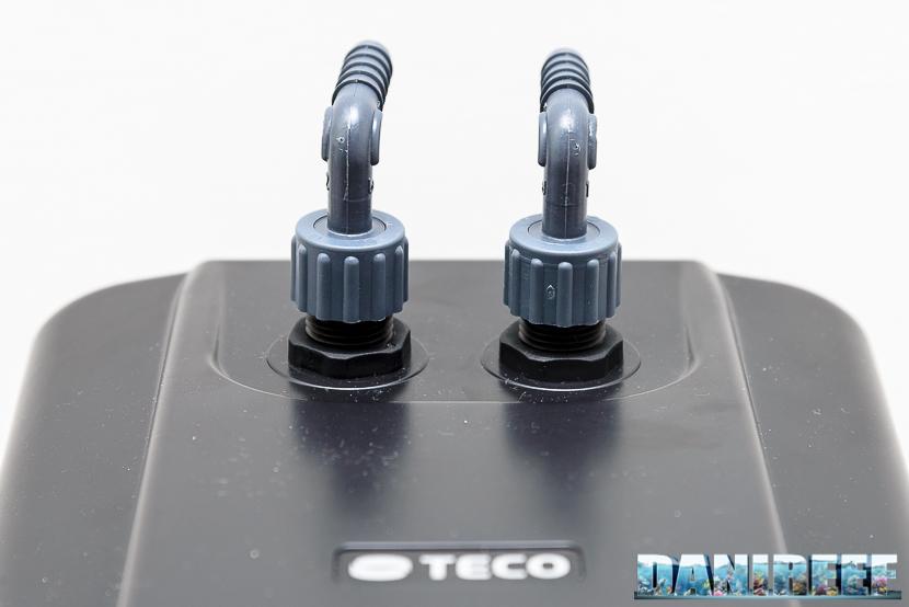 Refrigeratore teco tank tk 150 by danireef - tubi di alimentazione e uscita