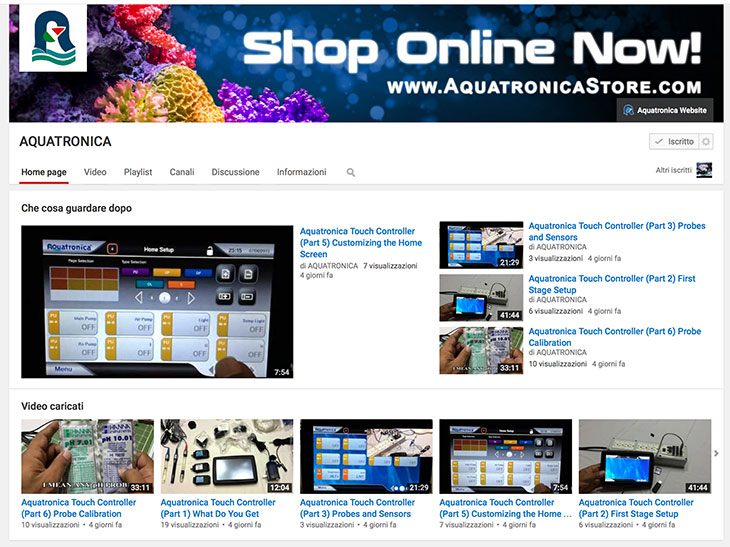aquatronica-su-youtube