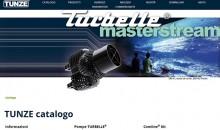 Tunze aggiorna il proprio sito web