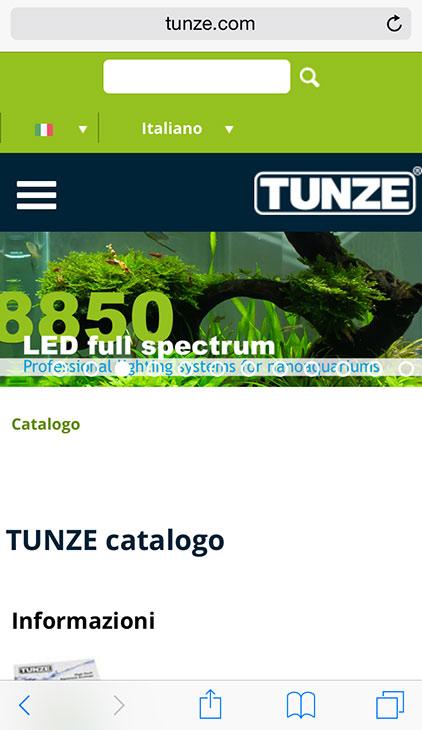 tunze-sito-mobile