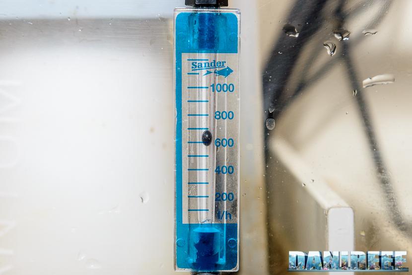 Aria e schiumazione: il flussimetro sander