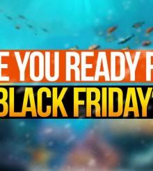 Black Friday: tutti gli sconti per l'acquariofilia validi solo oggi