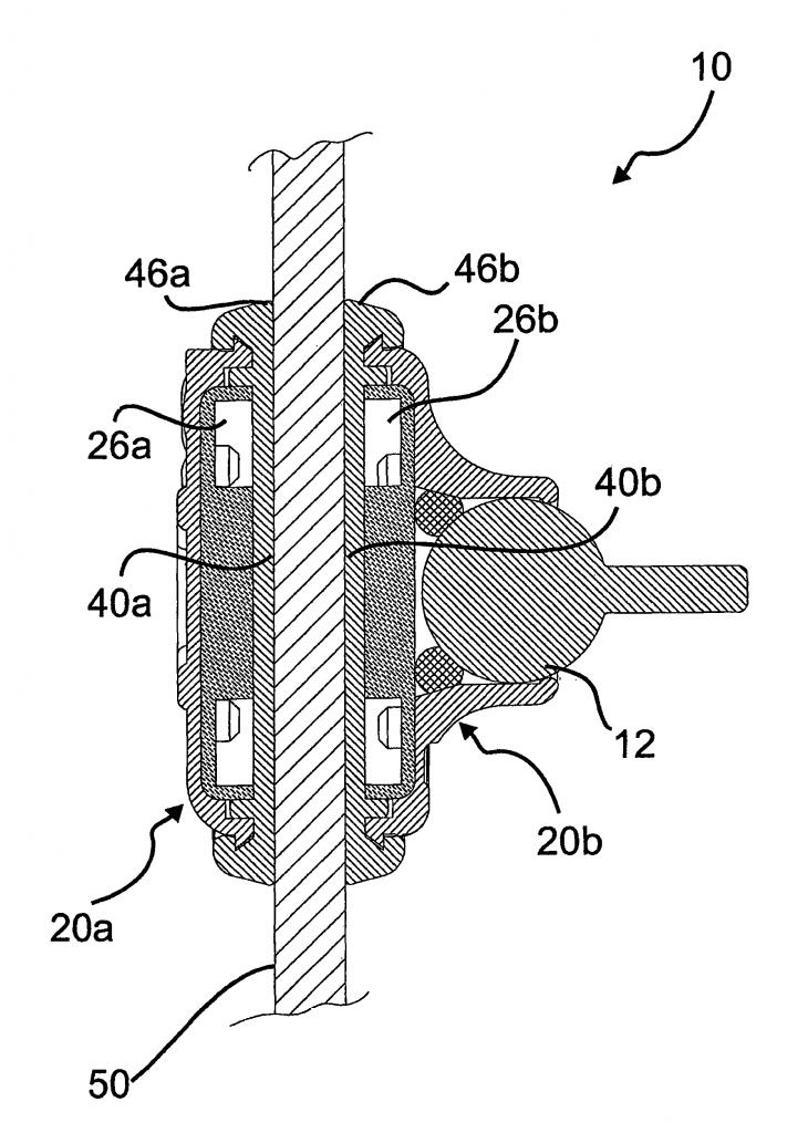 brevetto magnetoventosa hydor US08191846-20120605-D00000