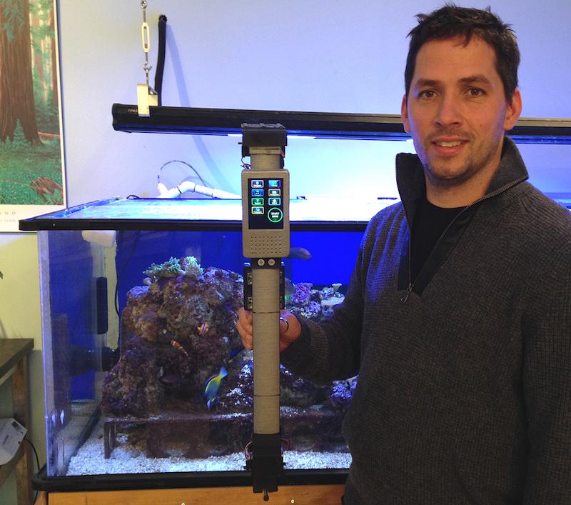 Mark Hausmann ed il suo Ocean Swipe 360