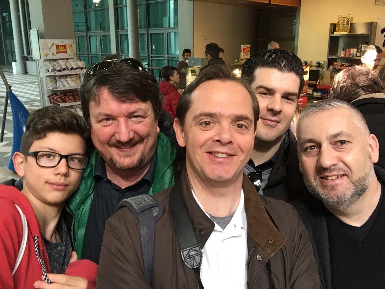 Lo staff di DaniReef in giro per Animal Show: Alessandro, Zanna Bianca, DaniReef, ale@RiMiNi e Hioct999