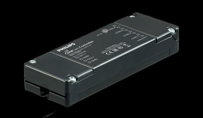 Il controller Philips per la plafoniera CoralCare può pilotare fino a quattro plafoniere e lavora con interfaccia 0-10V.