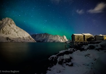 Incontro tra cielo e mare in una suggestiva marina a Reine - Isole Lofoten (Norvegia). Photo courtesy of Andrea Baglioni