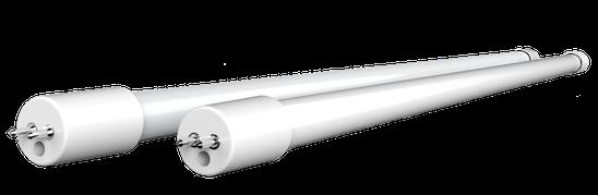 I nuovi tubi E5 avranno un aspetto il più possibile simile ai T5 che vogliono sostituire.