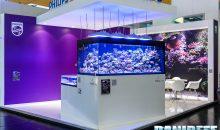Interzoo 2016: Lo stand Philips con la plafoniera led Philips CoralCare e video in 4K