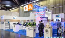 Le plafoniere a led nello stand AquaLeds – Interzoo 2016