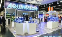 Interzoo 2016: Lo stand AquaMedic con le plafoniere Aquarius e tanto altro