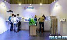 Interzoo 2016: lo stand CEAB con le nuove plafoniere Manta, Medusa, Slim e Moray