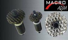 L'innovativa girante in rete di titanio marcata Macro Aqua®