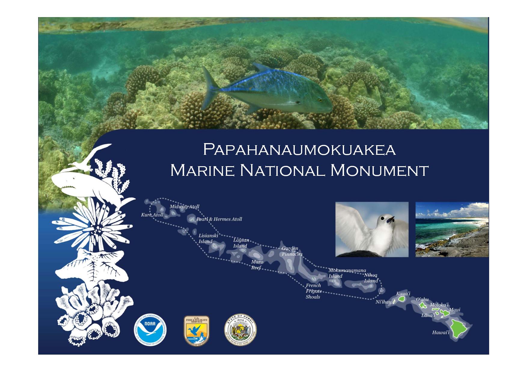 Papahānaumokuākea Marine National Monument: uno dei parchi che sta per essere ridotto dall'amministrazione Trump alla ricerca del Petrolio