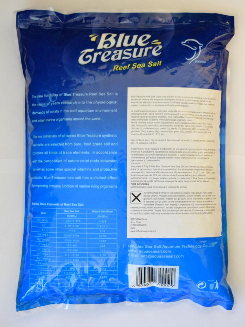 Tutti i dati riguardanti i valori di questo sale sono riportati sul retro della confezione.