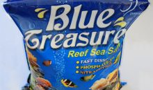 Blue Treasure – sale per acquari marini – recensione