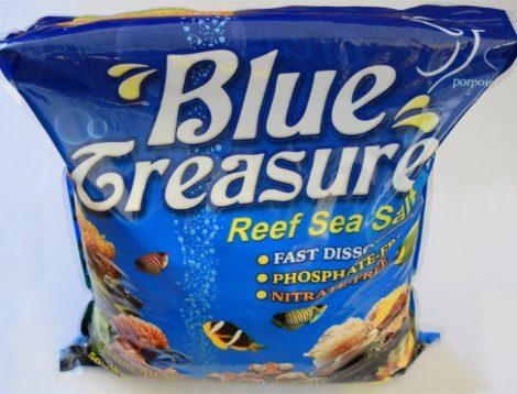 Il sale Blue Treasure Reef Sea Salt.