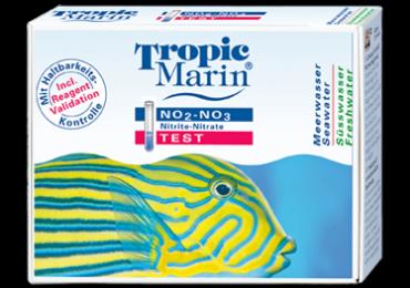 Scatola del test nitriti/nitrati Tropic Marin, immagine di www.tropic-marin.com