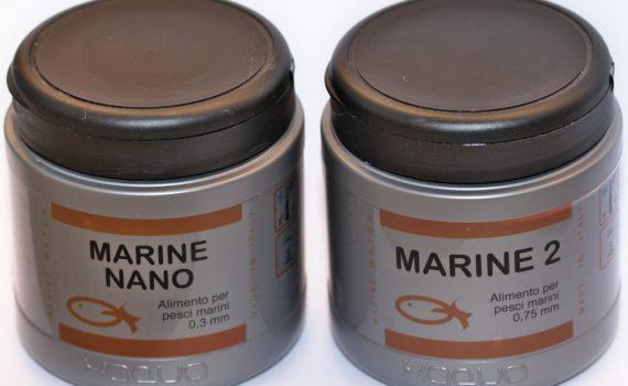 Alimento per pesci marini Xaqua.
