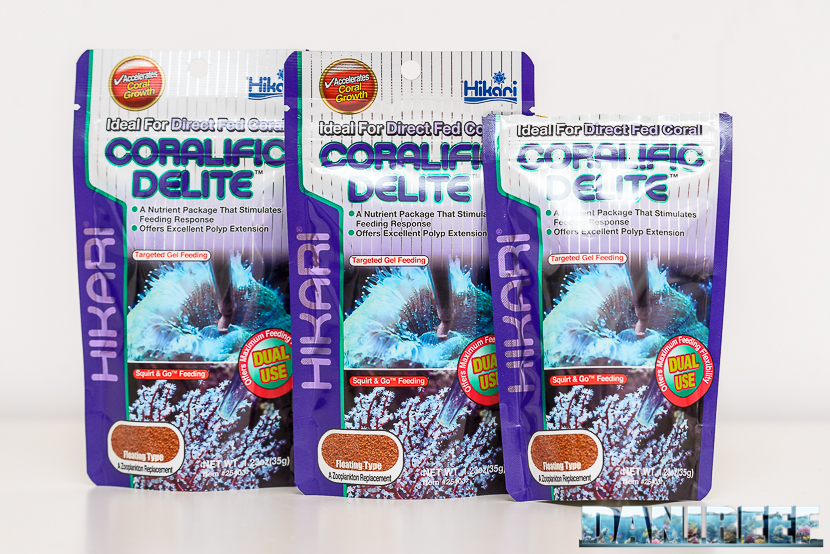 Hikari Coralific Delite - zooplancton per coralli