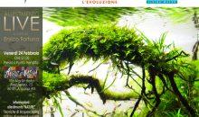 Doppio workshop di Aquascaping il prossimo fine settimana ad Ancona e Concorezzo