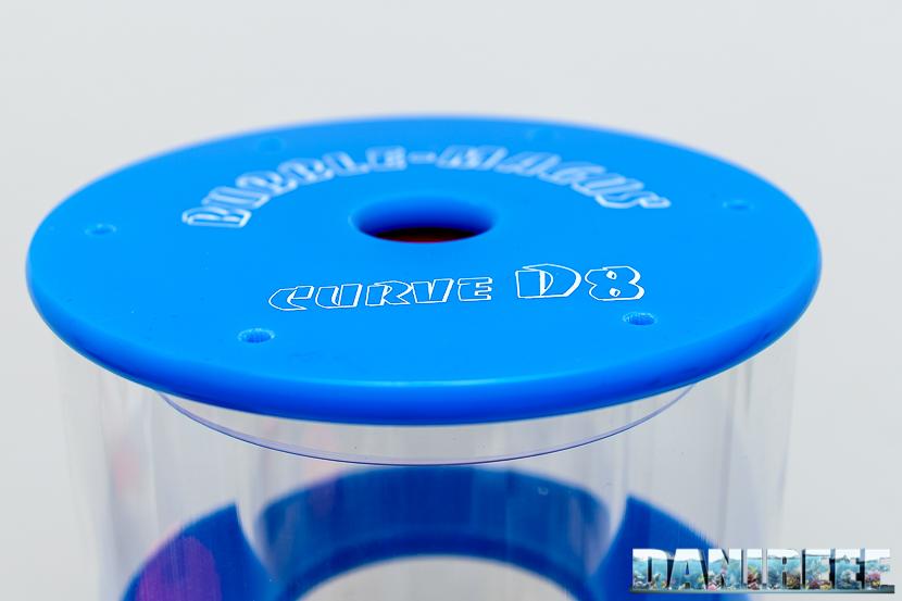 schiumatoio Bubble Magus Curve D8 - bicchiere