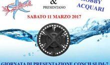 Presentazione pompe Conch Slim-7 sabato 11 presso Hobby Acquari Bologna
