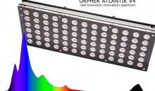 Orphek Atlantik V4 – la nuova plafoniera con lo spettro che arriva all'infrarosso
