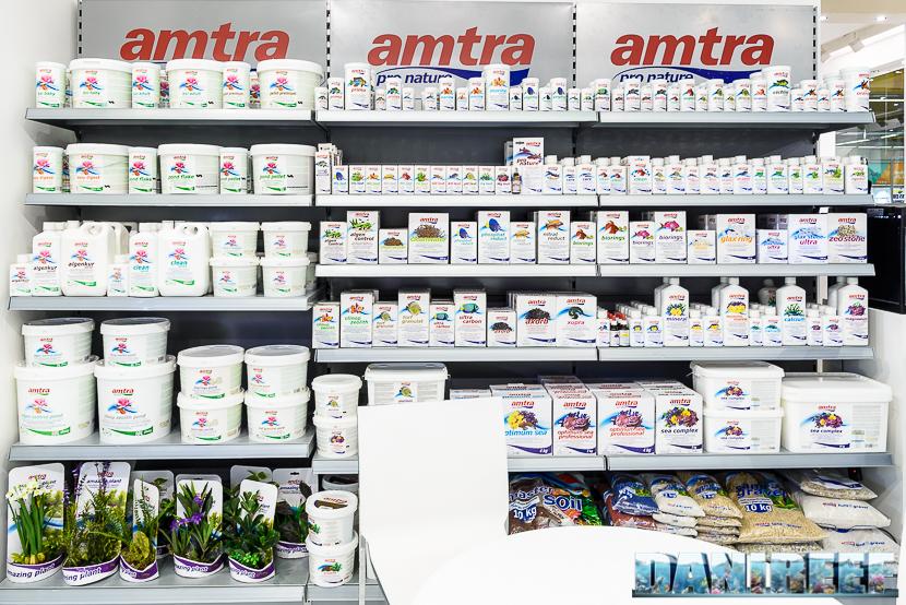I prodotti nello stand Amtra presso Zoomark 2017