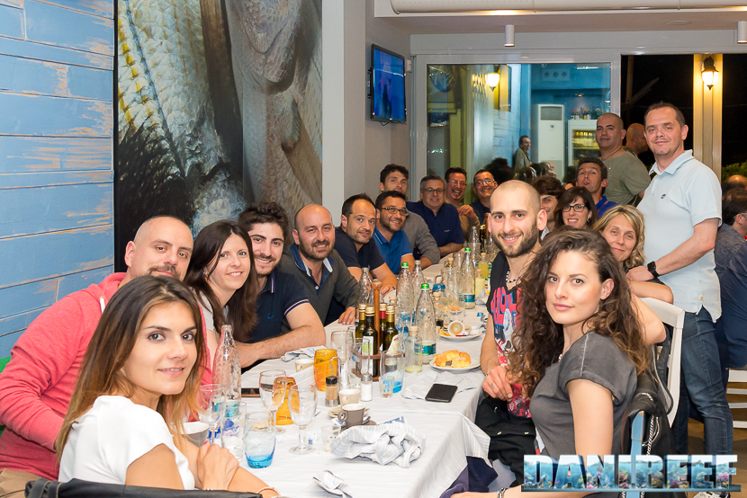 Il gruppo del MagnaRomagna alla cena numero 50!