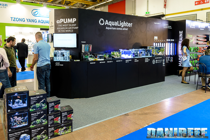 Stand Aqualighter a Zoomark 2017