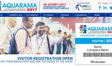 Aquarama 2017, 26-29 of May in Guangzhou only a few days to go