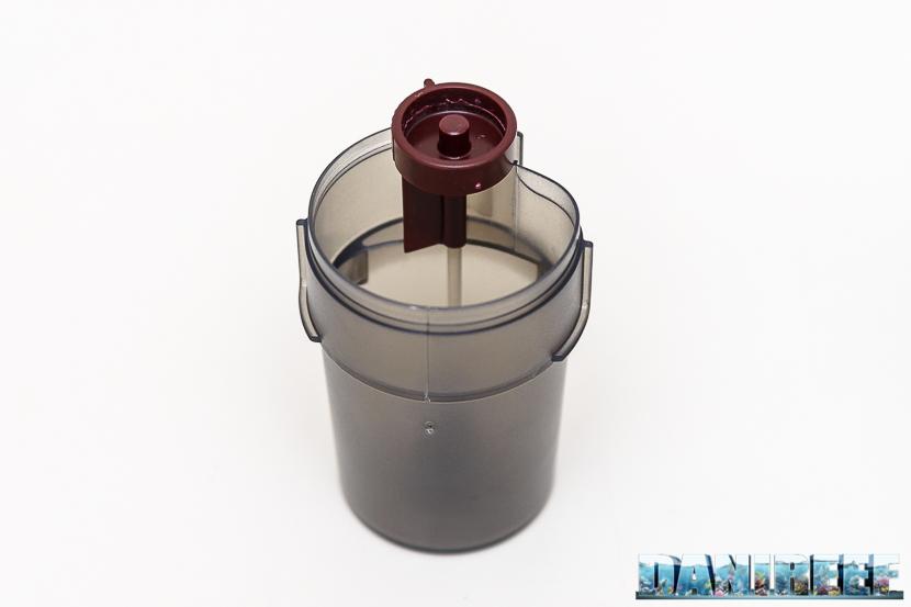 Mangiatoia automatica Hydor Mixo ed Ekomixo: contenitore del mangime