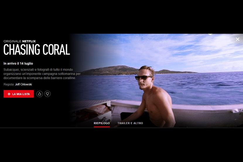 Chasing Coral - documentario sulla scomparsa delle barriere coralline
