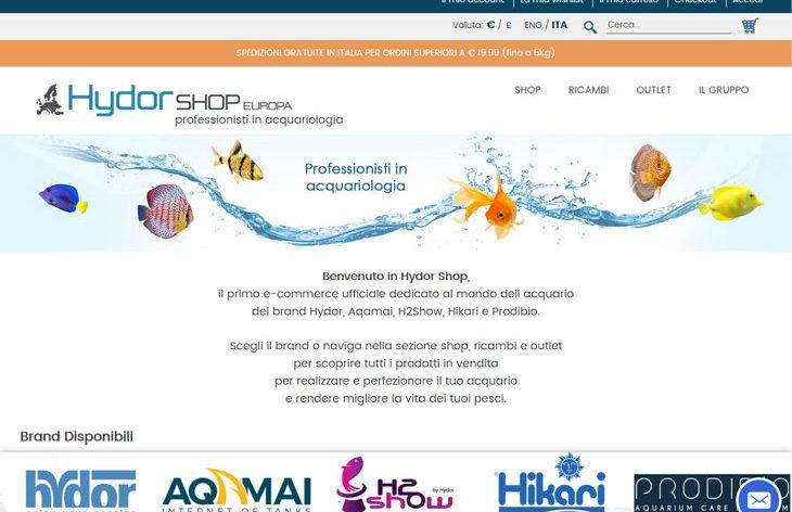 Hydor shop europa il nuovo negozio online del marchio hydor for Acquario shop online