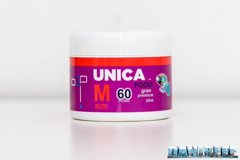 AGP Unica Gran Premium Plus - mangime granulare iperproteico - barattolino da 50 grammi
