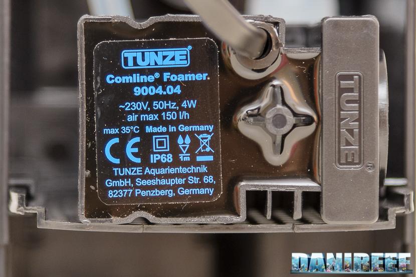 schiumatoio tunze 9004 - pompa di schiumazione