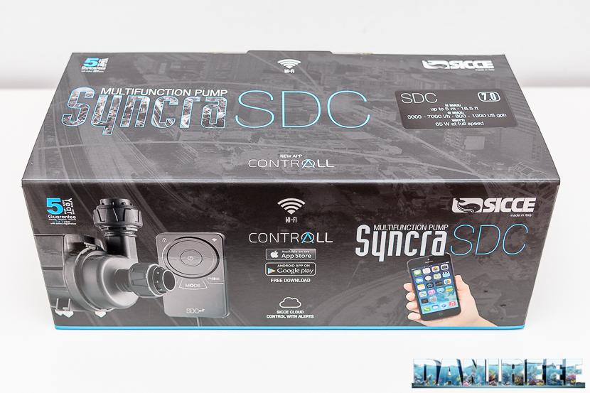 Sicce Syncra SDC 7.0 - la confezione