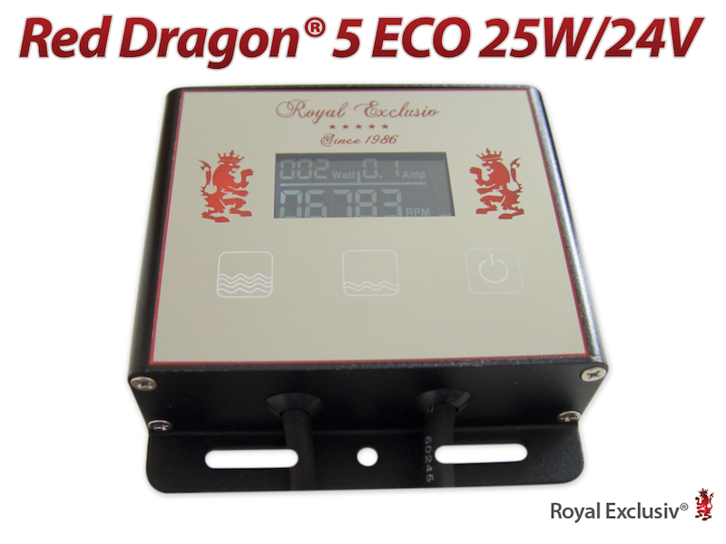 Red Dragon 5 Eco 25 watt - controller
