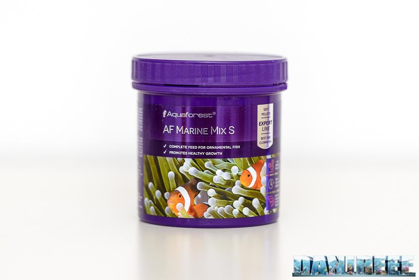 Mangime granulare Aquaforest AF Marine Mix - barattolo