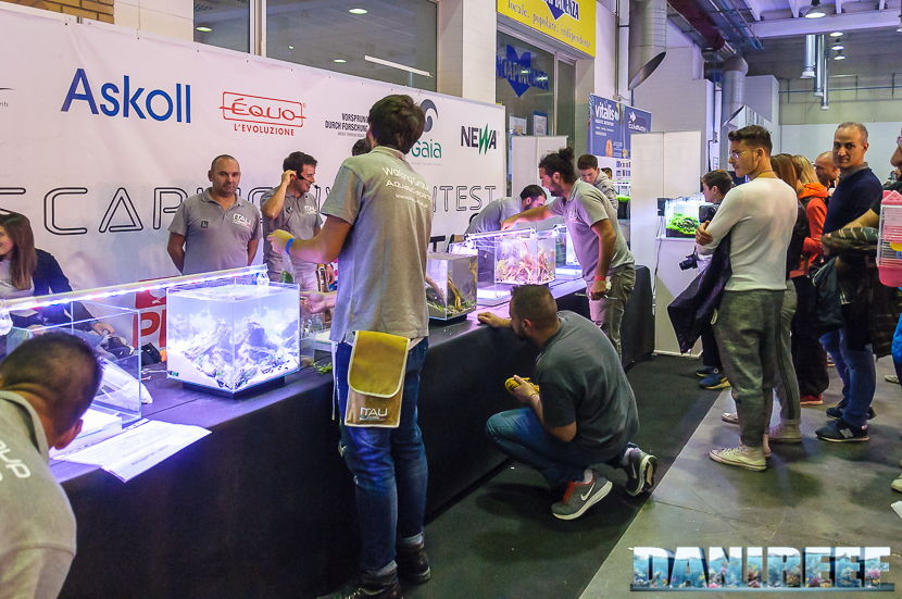 Aquascapers al lavoro al PetsFestival 2017