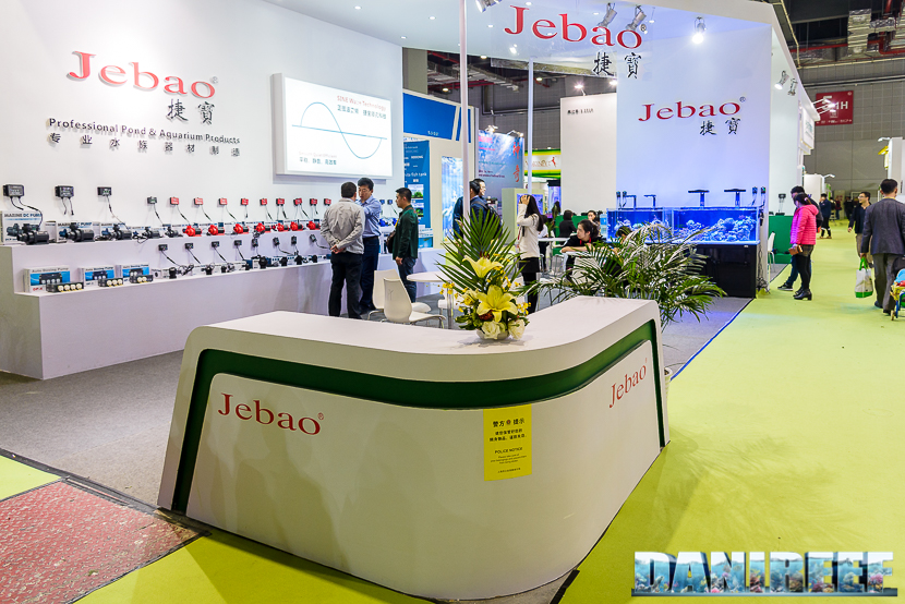 Stand Jebao al Cips di Shanghai